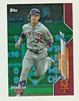 2020 Topps Opening Day RED HOLO FOIL #80 MICHAEL CONFORTO New York Mets