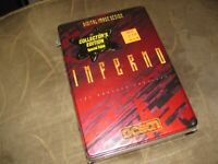 NEW SEALED RARE TIN BOX COLLECTORS EDITION Inferno DOS GAME by Ocean