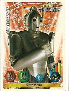 Doctor Who Alien Armies Limited Edition Cyberman - PANINI  - RARE