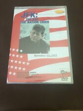 JFK: The Day the Nation Cried - November 22, 1963 Deluxe Edition(DVD, 2001) NEW
