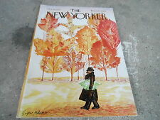OCT 14 1972  NEW YORKER magazine AUTUMN - LEAVES