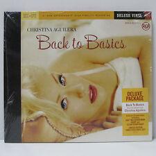 CHRISTINA AGUILERA - Back To Basics 3LP BOX SEALED MINT 2006 ORIG NUMBER #1355