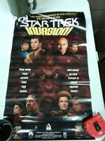 Vintage 1996 Star Trek Invasion Book Series Poster 23x14 (dd) (c32)