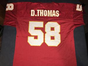 Vintage 1997 Starter Kansas City Chiefs 58 Derrick Thomas Jersey Size 52/XL NWOT