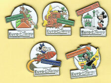 pins-bd-disney_Esso Eurodisney_5 pins Arthus Bertrand
