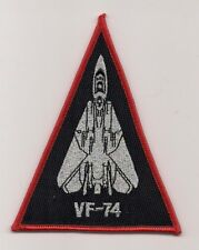 USN VF-74 BE-DEVILERS F-14 triangle aircraft patch F-14 TOMCAT FIGHTER SQN