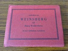 C1960s 10 Views of Weinsberg in Original Cover