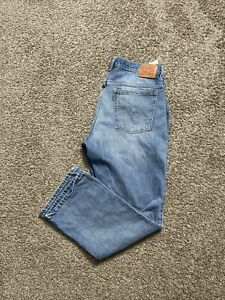Vintage Levi's 517 Orange Tab USA Made Men's Blue Jeans Size 32x30