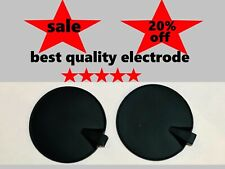 """2PS Replacement Rubber Carbon Electrode Black  3"""" for Hill Laboratories HILL IFC"""