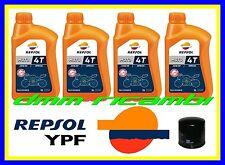Kit Tagliando HONDA NC 700 INTEGRA 12>13 + Filtro Olio REPSOL 10W30 2012 2013