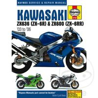 Kawasaki ZX-6R 636 C Ninja 2005 Haynes Service Repair Manual 4742