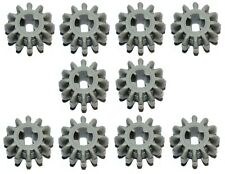 LEGO Technic cogs gears (x 10 pieces) grey 12 tooth bevel part: 32270