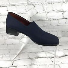 Donald J Pliner. Women Navy Elastic Loafers Size 6 M