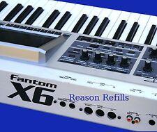 REASON REFILL ROLAND FANTOM X6 Sample Pack RFL FORMAT