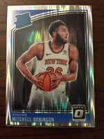 2018-19 Panini Donruss Optic Rated Rookies Shock Prizm Mitchell Robinson Rookie