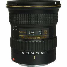 Tokina AT-X PRO DX II SD 11-16mm F/2.8 Objetivo Para Canon EF, Sony A, Nikon F - Negro