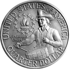 "1976- P OR D  BICENTENNIAL ""CIRCULATED""  WASHINGTON QUARTER"
