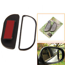 1 Pair Universal Car Decor & Rearview Blind Spot Miorrors Clear Glass Expander