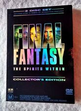 FINAL FANTASY: THE SPIRITS WITHIN- COLLECTOR'S EDITION (DVD, 2-DISC BOX SET) R-4