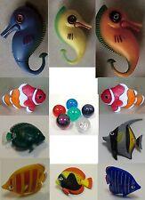Fische für Wassersäule Blubbersäule Sprudelsäule Fische 15-er SET .#7333
