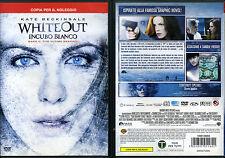 WHITEOUT - INCUBO BIANCO - DVD (USATO EX RENTAL) - KATE BECKINSALE