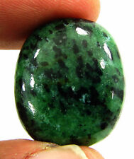 33.80 Ct Natural Ruby Zoisite Anyolite Loose Gemstone Cabochon Stone - 19335