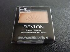 Revlon Powder Blush / Bronzer - SUNKISSED BRONZE #02 - Brand New / Sealed