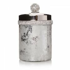 16cm Crackle Bathroom Cotton Wool Jar Pot Container Bath room Accessories