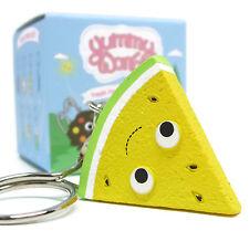 Kidrobot Yummy World Fresh Friends Keychain Series Yellow Watermelon Slice