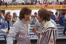 FRANCOIS CEVERT & GERARD Larrousse MATRA Ritratto Watkins Glen 1972 Fotografia