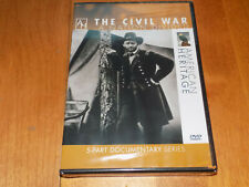 THE CIVIL WAR A Nation Divided Confederate Union Army American Heritage DVD NEW
