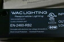 WAC Lighting EN-2460-RB2 24 Volt Class 2 Power Unit 24 VAc Output