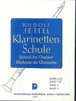 Rudolf Jettel - Klarinettenschule Band 1/a