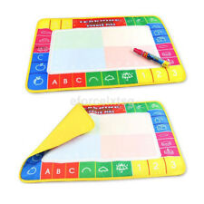 Funny Water Drawing Writting Magic Doodle Mat Boards Pen Kids Boy Girl Toys Gift