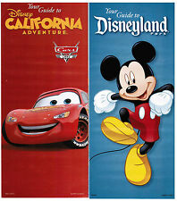 Disneyland/CA Adventure Guides January 11-17, 2013 w/schedules