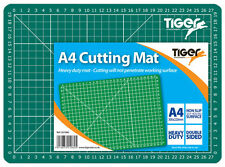 Tiger A4 Heavy Duty Cutting Mat -Self heal surface with printed Grid Lines