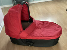 Babystyle Oyster 1 Carrycot will also fit Oyster 2 -Oyster Max Upper BN Red PACk