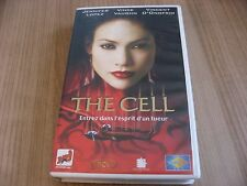THE CELL VHS FRENCH JENNIFER LOPEZ VINCENT D'ONOFRIO VINCE VAUGHN