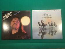 Bob Seger Lot Of 2 Vinyl LP's Night Moves/Against The Wind