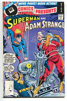 DC Comics Presents 3 DC 1978 VF NM Whitman Variant Superman Adam Strange