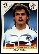 Italia '90 Olaf Thon #205 World Cup Story Panini Sticker (C350)