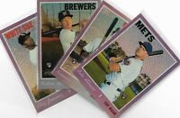 2019 Topps Heritage High Numbers Purple Refractor Parallel U Pick Alonso Tatis +
