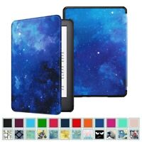 For All-New Kindle 10th Gen 2019 Slim Case PU Leather Cover with Auto Sleep/Wake