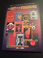 The Art of the Fillmore: The Poster Series 1966-1971 by Bill Graham NOS
