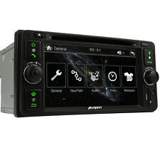 Double 2 Stereo For Toyota Corolla Hilux Rav4 Car GPS Navi Radio DVD Player USB
