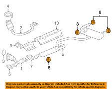 GM OEM Exhaust-Muffler Pipe Hanger Insulator 22674119