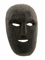 Maschera Nepal De L'Himalaya Sciamano-Viso Humain Tribale 9476 W3