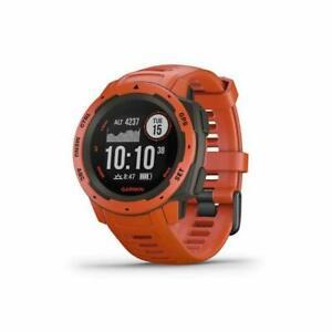 Garmin 010-02064-02 Instinct Outdoor Watch with GPS - Red