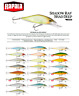 Rapala Shadow Rap® Shad Deep Slow Rising Fishing Lure 9cm 11g Various Colours