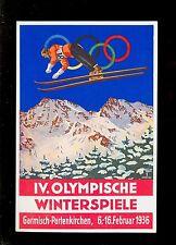 AK HIVER-JEUX OLYMPIQUES consti-Partenkirchen 1936